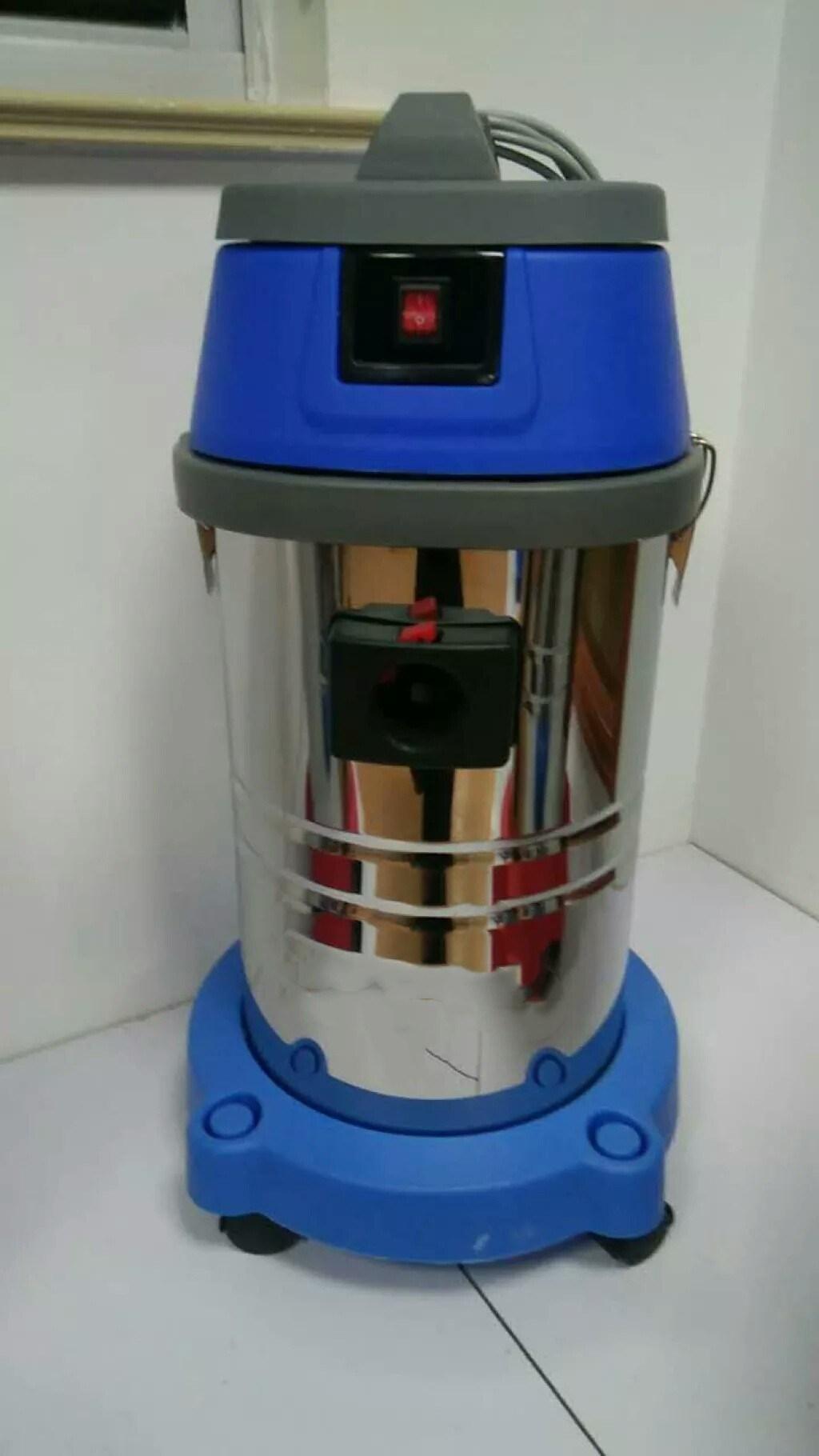 [Hot Item] Domestic Dark Blue Color Wet and Dry Vacuum Cleaner Cc-35L