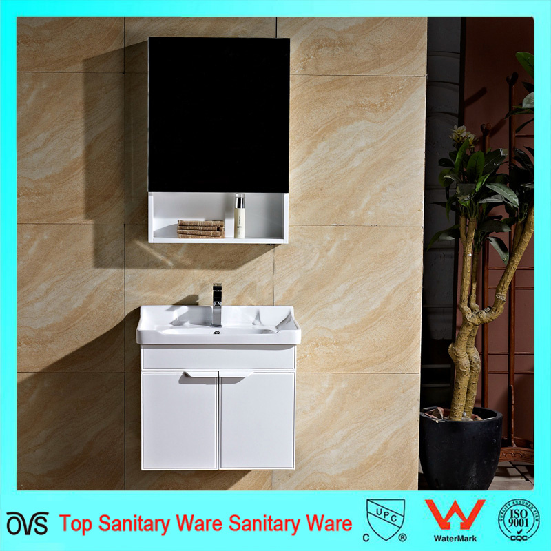 Hot Item Full White Wall Mounted Bathroom Cabinet With Mirror