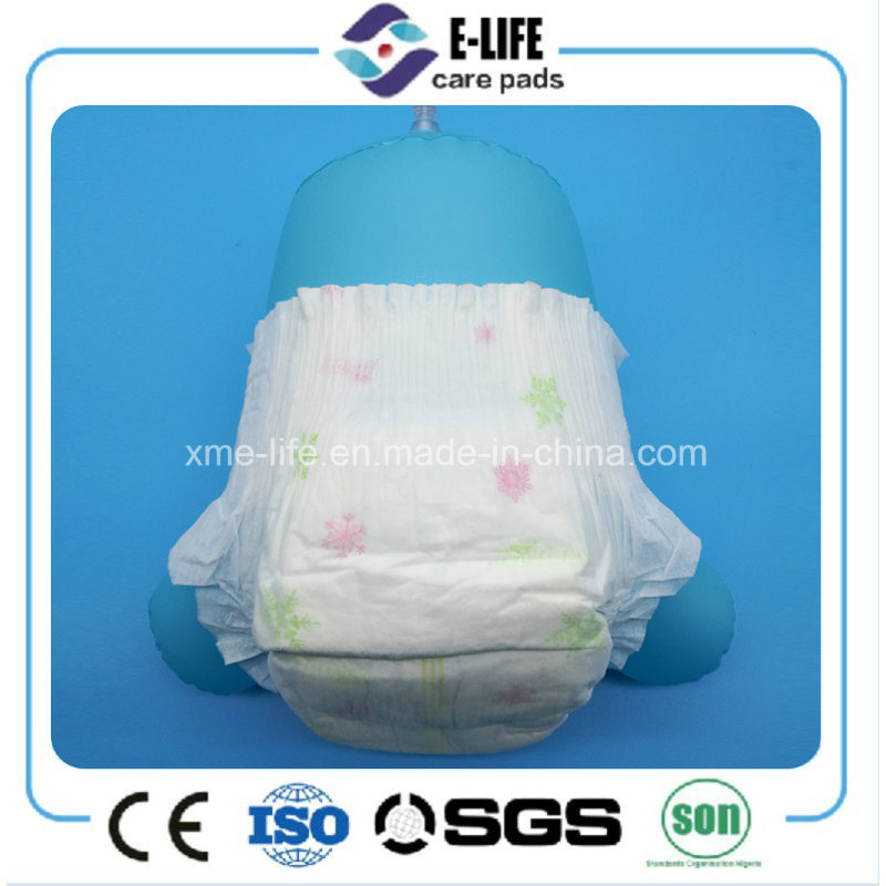 2017 Hot Selling Ultra Thin Good Quality Sleepy Disposable Baby Diaper (Manufacturer)