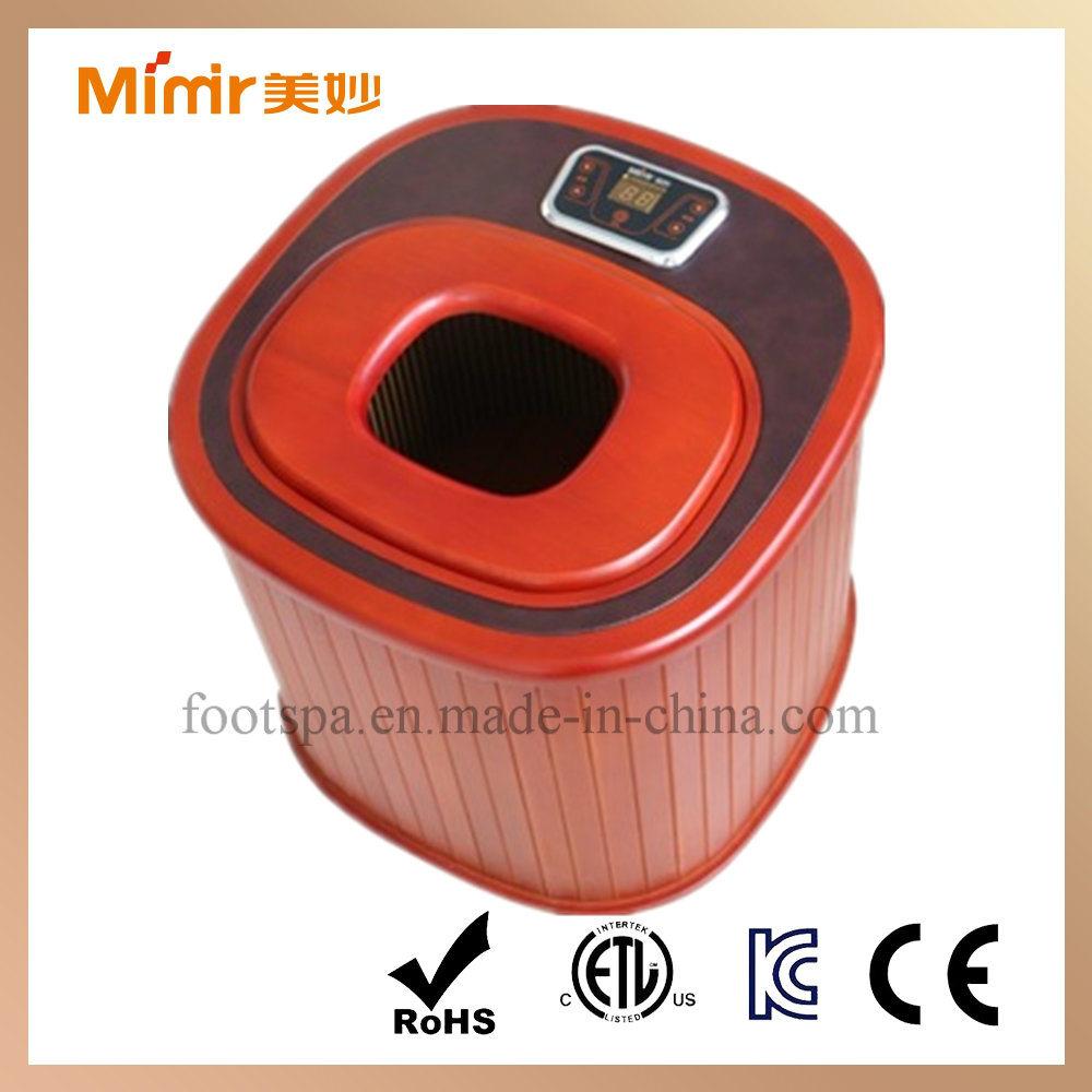 China Luxuries Far-Infrared Dry Foot Bath Health SPA Foot Sauna ...