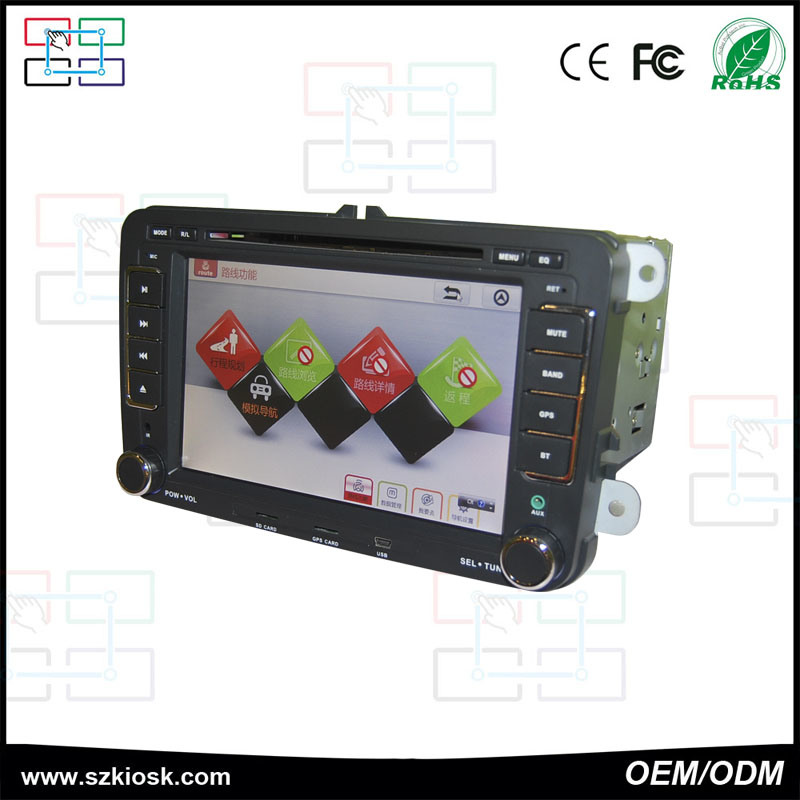7 Inch Android Touch Screen Monitor 2 DIN Car PC