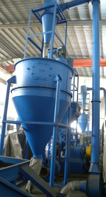 Fiber Separator From Rubber Granule Powder
