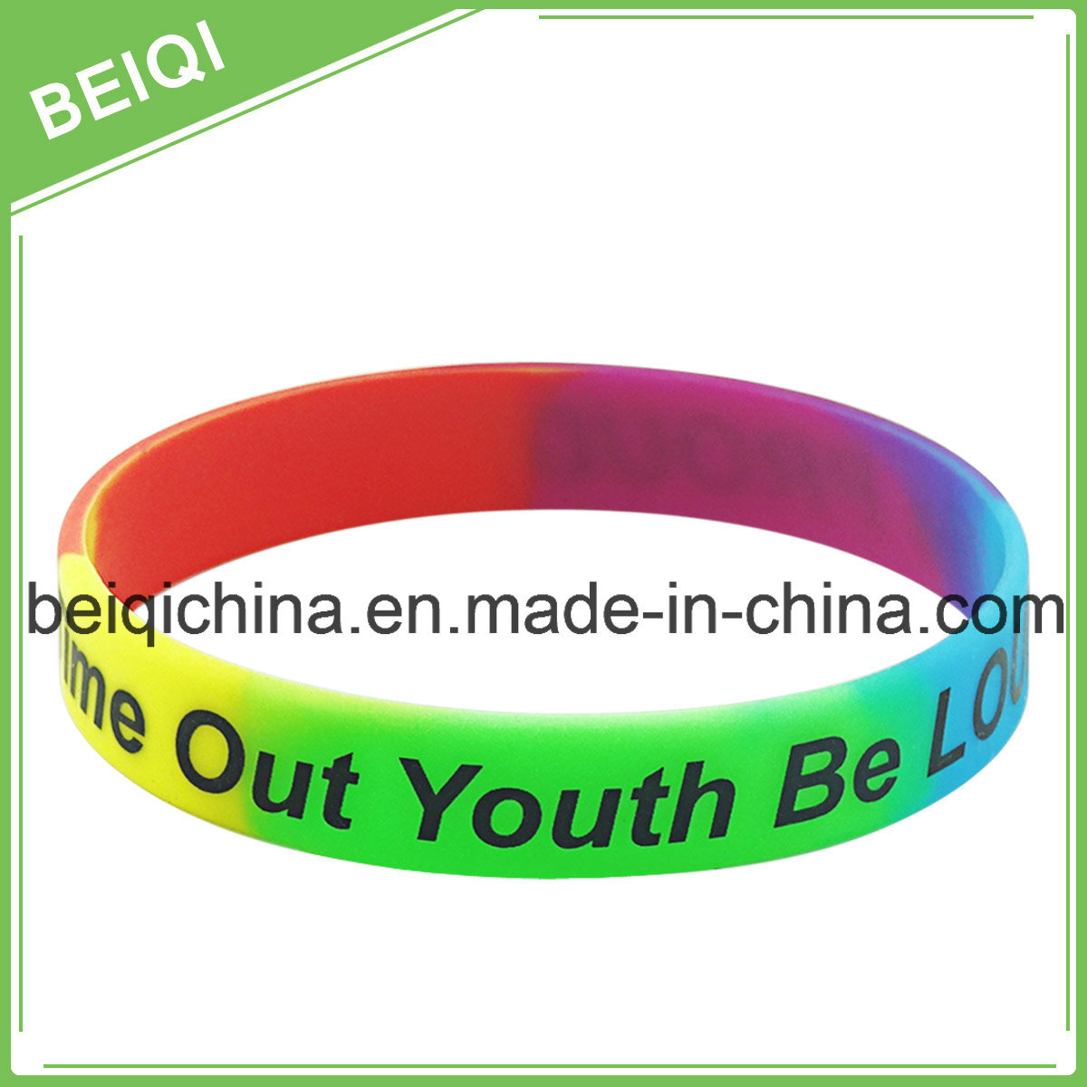 Personalized Rubber Wristbands