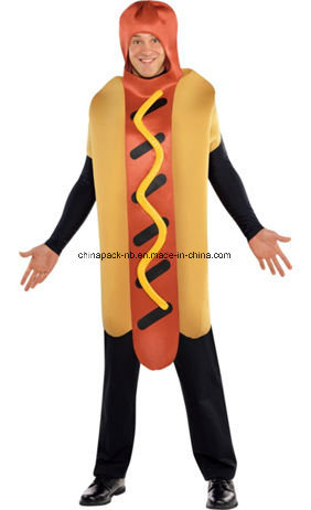 Hot Dog and Spicy Mustard Couples Costumes (CPGC7002X) pictures & photos