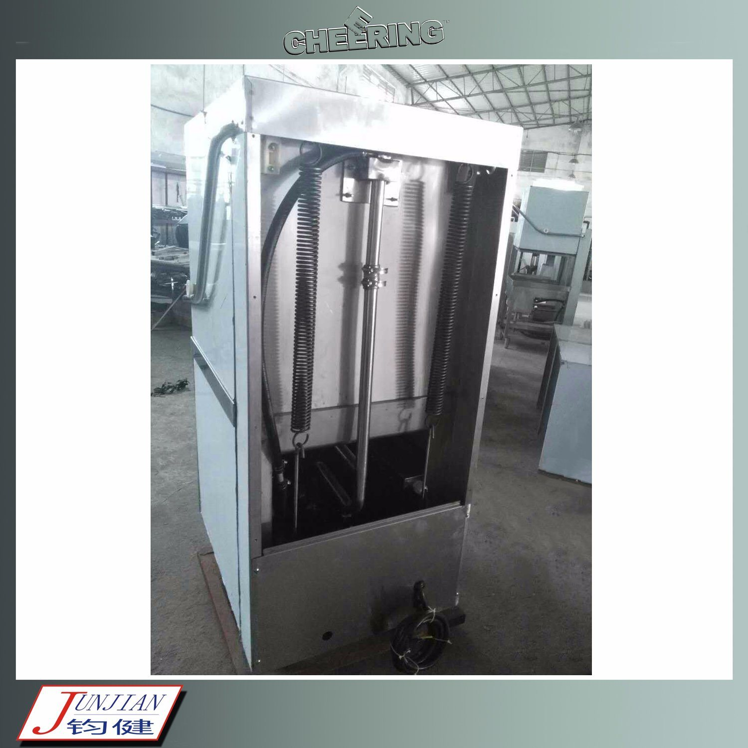 Cheering Commercial Stainless Steel Ultra High Temperature Dishwasher for Cleaning pictures & photos