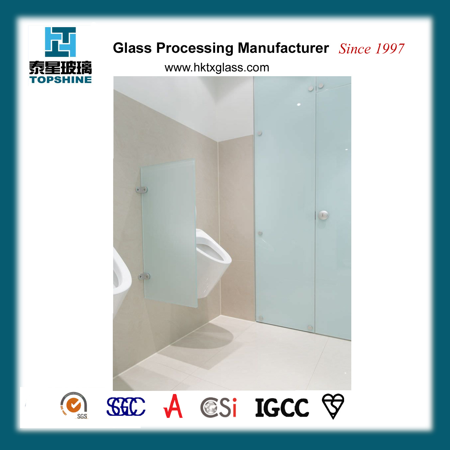 China New Design Glass Partition Wall For Toilet Photos Pictures - Glass partition wall for bathroom
