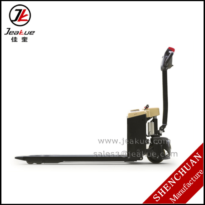 1500kg Mini Electric Pallet Truck (Pallet Jack) pictures & photos