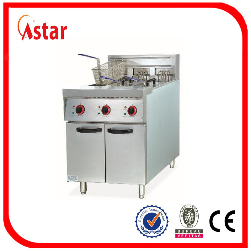 Free Standing Electric Deep Fryer For Sale Commercial Micro Computer Control Chicken With Timer