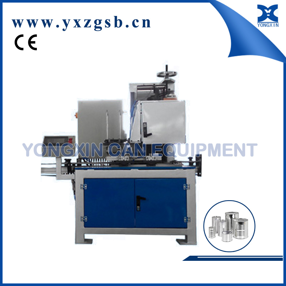 Fully Automatic Round Square Food Paint Tinplate Tin Can Seamer Equipment