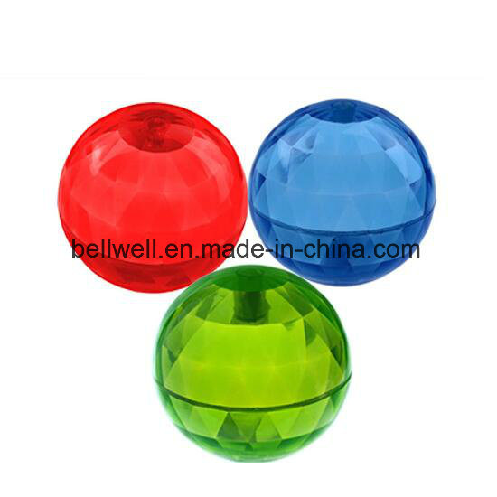 Colorful TPU Flashing Air Bouncing Ball for Kids