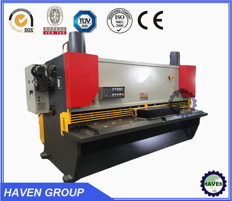 Hydraulic Swing Beam Shearing Machine Plate Cutting Machine pictures & photos