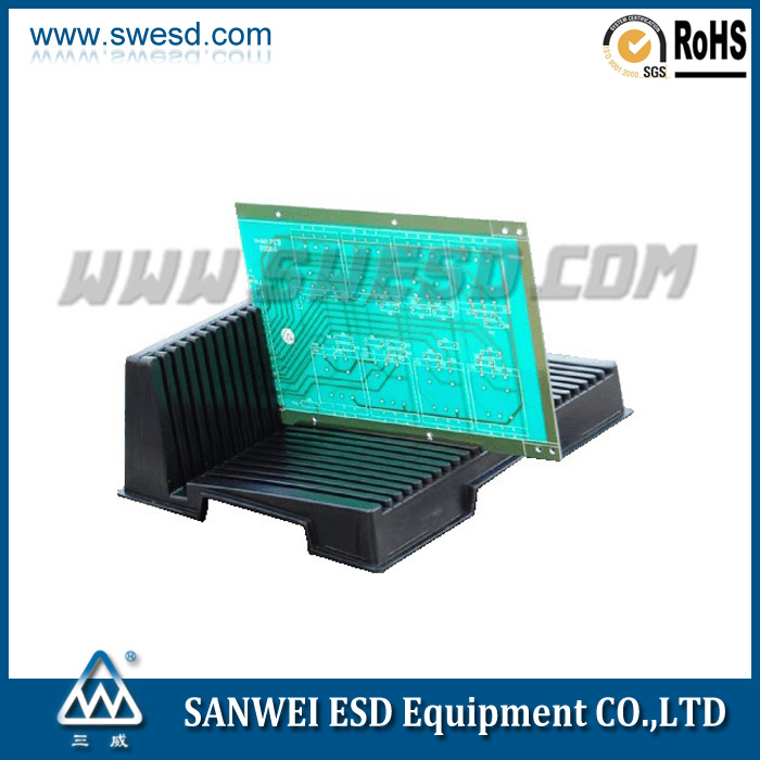 L-Style Conductive Plastic ESD PCB Circulation Rack (3W-9805405)