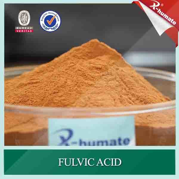 100% Water Soluble Fulvic Acid 80%Min Powder Organic Fertilizer