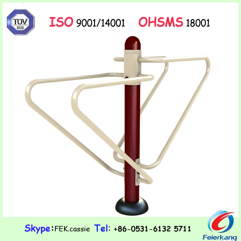 Stepper 140mm Galvanized Outdoor Fitness Equipment