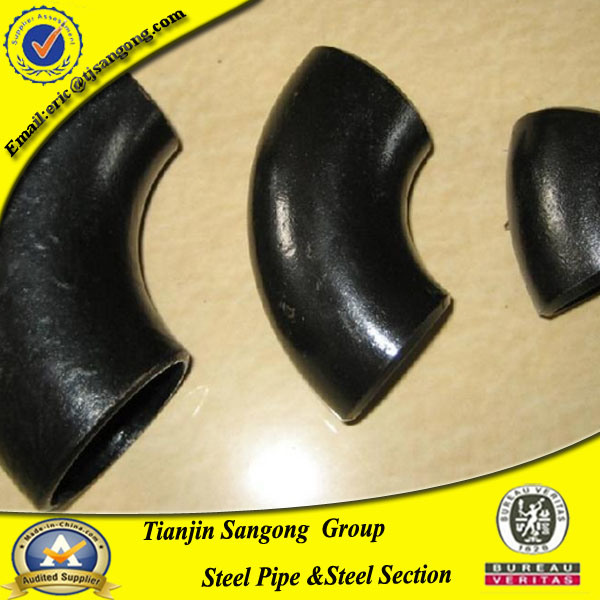 8 Inch Carbon Steel Pipe 90 Deg Ms Elbow Fitting