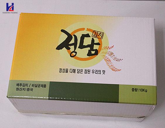 Good Quality Kimchi Packaging Box/Pickled Vegetables Box, 10kg Box