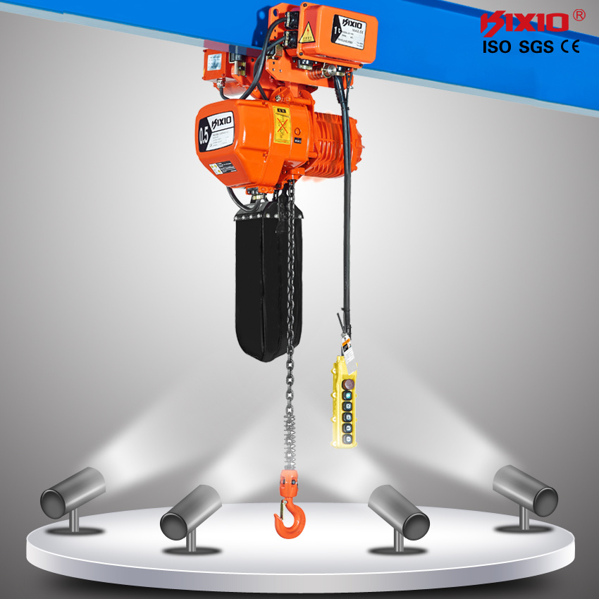 [Hot Item] Kixio 250kg to 50t Lifting Tool Electric Chain Hoist with Trolley