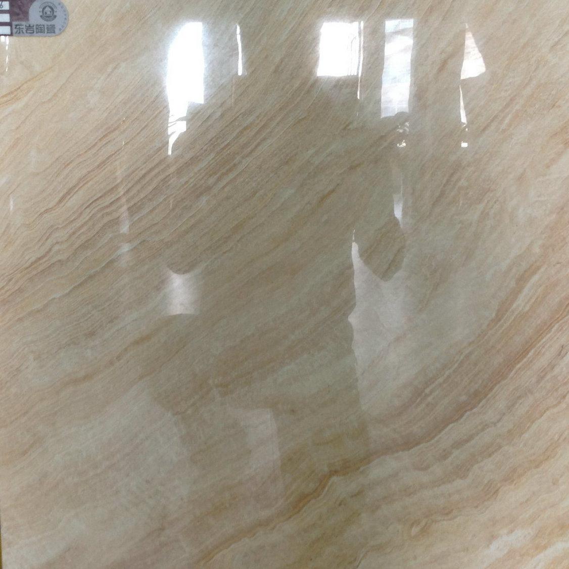 China Inkjet Printing Full Polished Glazed Porcelain Floor Tile