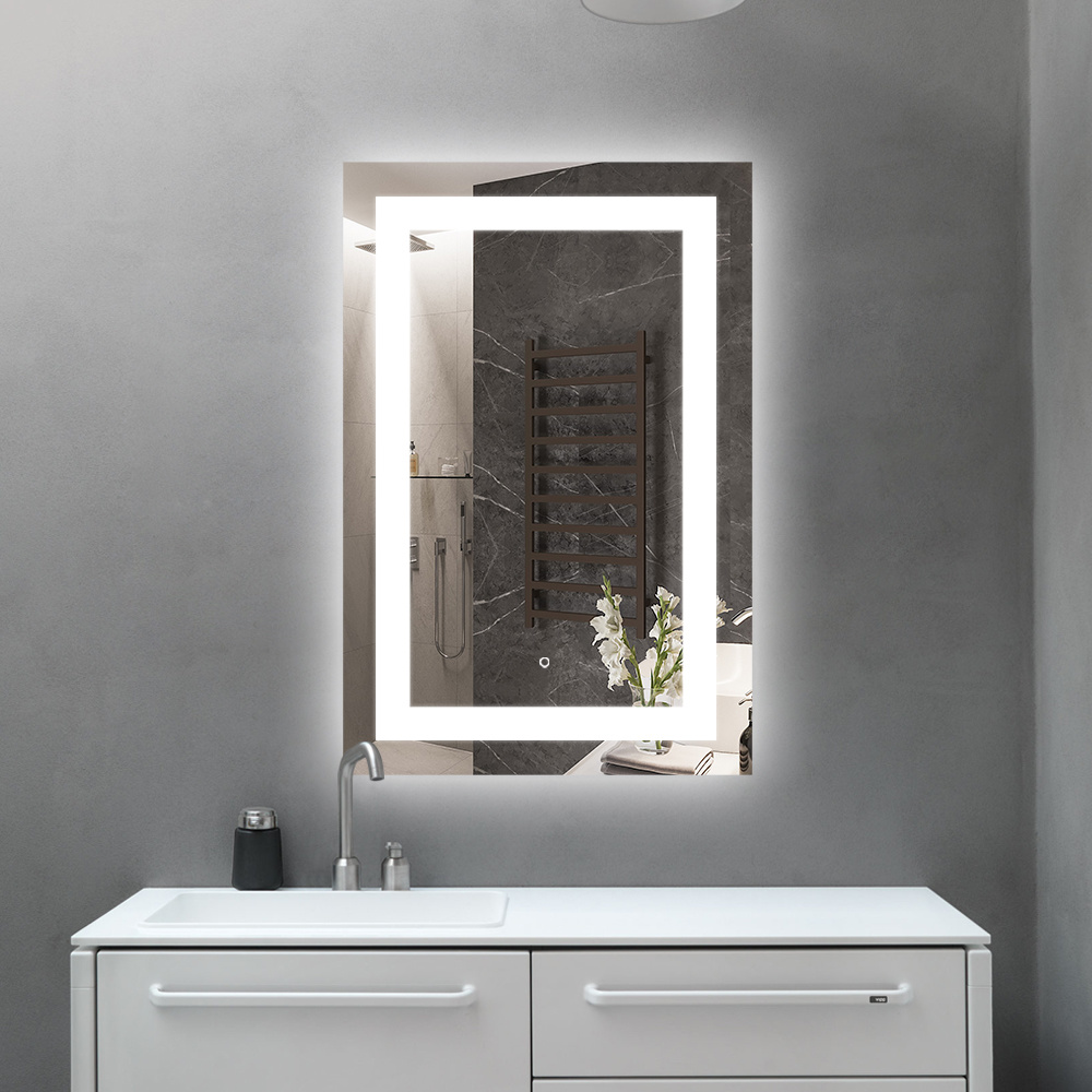 China Ul Listed Large Led Bathroom Mirror With Light Magnifying Illuminated China Smart Mirrors Mirror Glass
