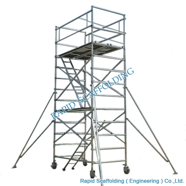 china aluminum mobile tower scaffold for sales photos