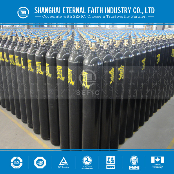 2014 New Seamless Steel Gas Cylinder Nitrogen Gas Cylinder (GB5099/ISO9809) pictures & photos