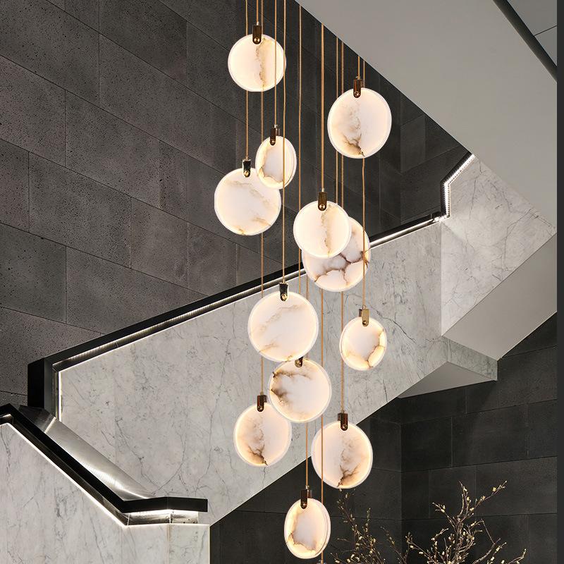Spain Marble Led Hanging Pendant Light