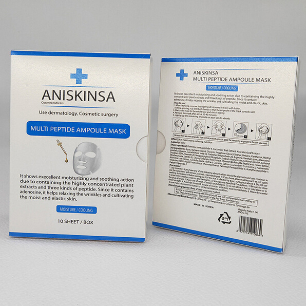 Packaging Printing Mask Uv hot Customized Commodity Item Carton Surgical Box