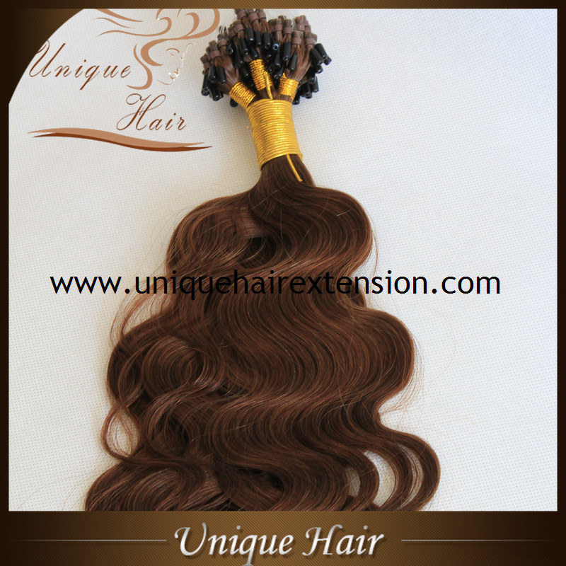 China Wholesale Double Drawn Russian Virgin Micro Loop Hair