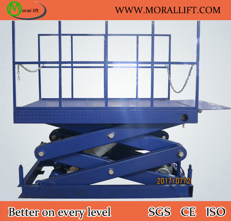 Cargo Lifting Machine Electric Scissor Dock Lift (SJG) pictures & photos