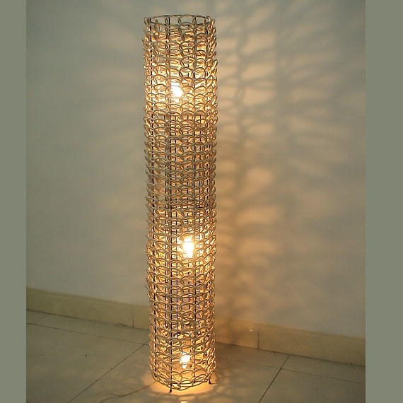 China Rattan Floor Lamp Rf002 China Light Lighting