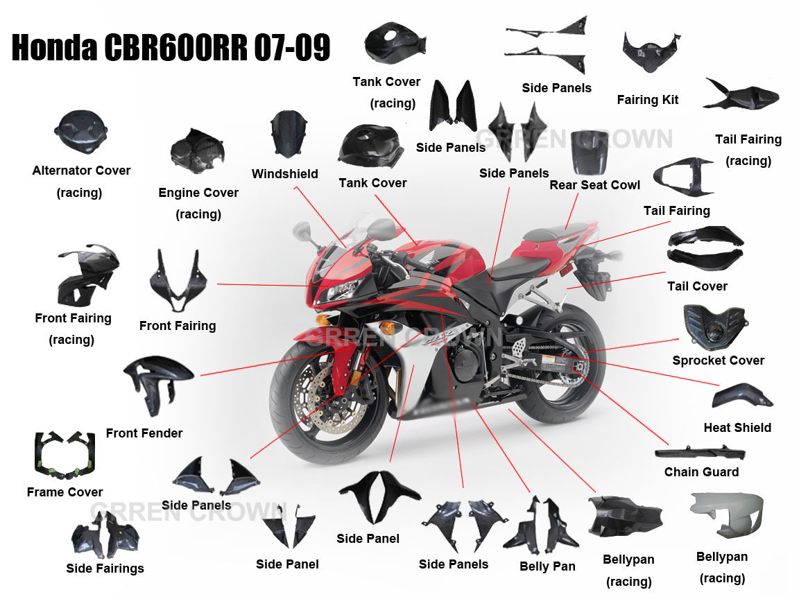 Honda Cbr600rr Parts Diagram Wiring Diagrams 2003 600rr Cbr Get Free Image About Fairings Oem 2012