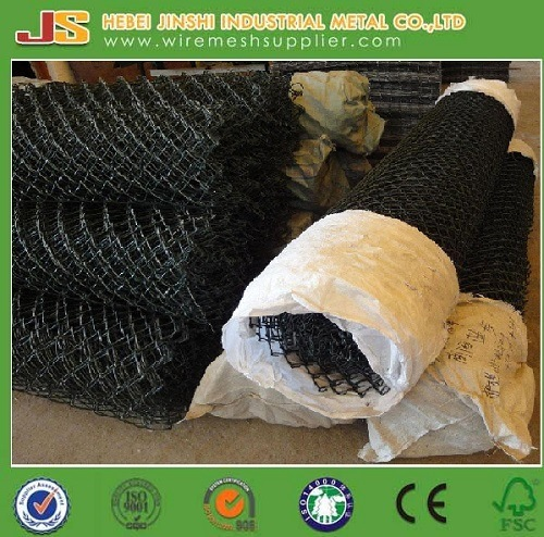 Used PVC Coated Chain Link Fence for Farm Fence