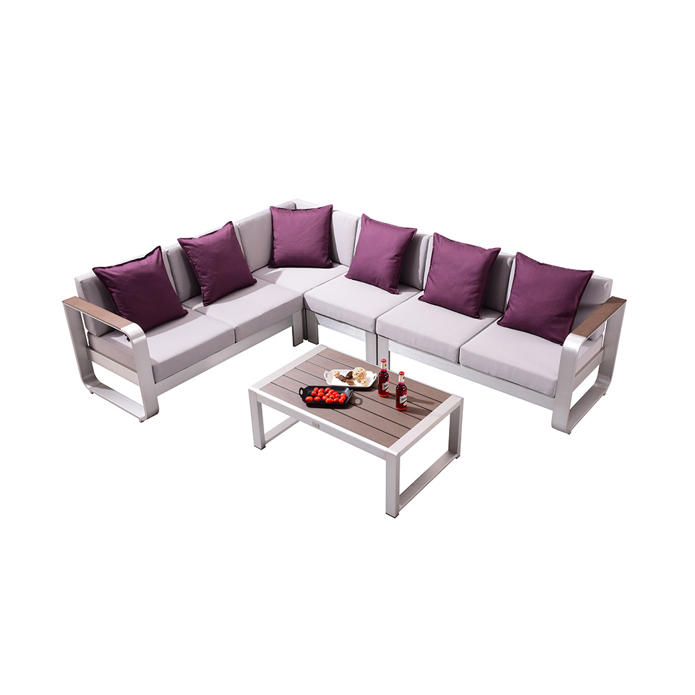 China Outdoor Sofa Garden L Shape Lounge Set Patio Furniture China