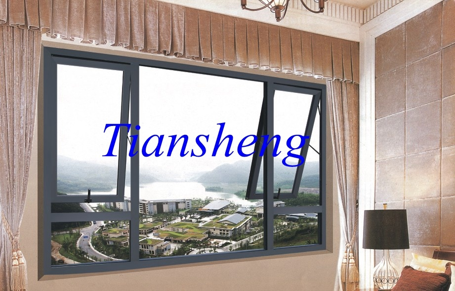 China Aluminium Top Hung Awning Window in Balcony/Cheap ...