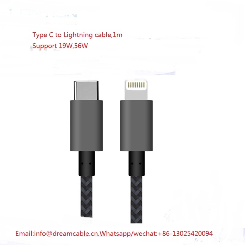 huge discount 2ad5e 496c7 [Hot Item] 1m Quick Charging Type C to C48 Lightning Cable for iPhone X