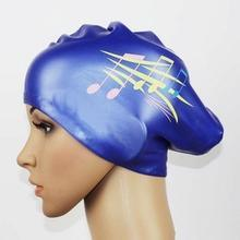 Lady Silicone Swimming Cap