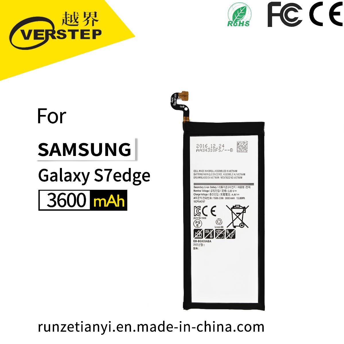 China Internal Mobile Phone Batteries 3600mah Eb Bg935aba Bg935abe Samsung Galaxy Note 2 Original Battery For S7 Edge