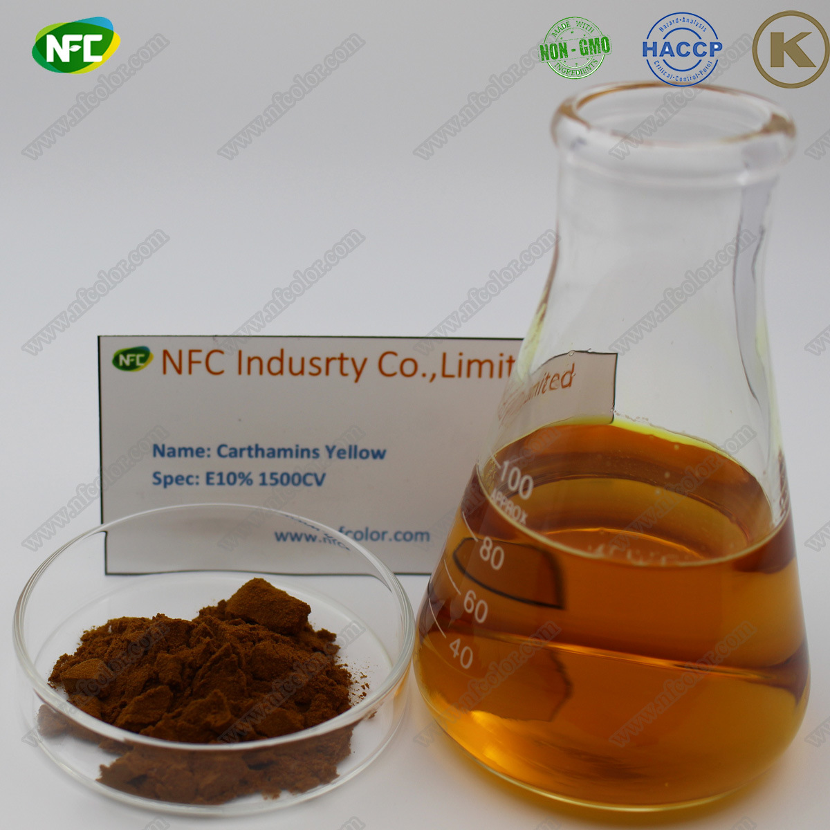 [Hot Item] Free Sample Natural Food Color Carthamins Yellow Extracts with  Best Price