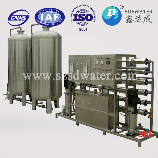 1000 L/H Pure Water RO Filtration System