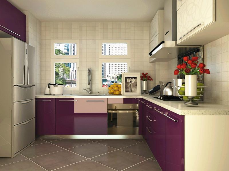 China Purple Acrylic Mdf Board For Kitchen Cabinet Door China