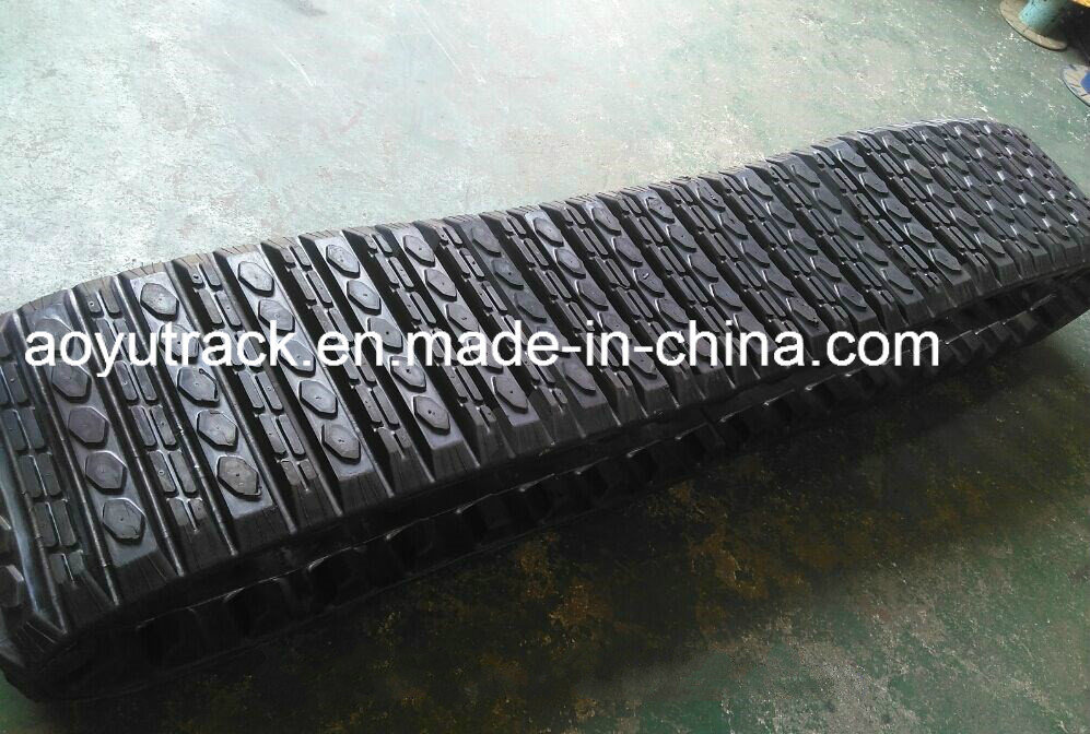Rubber Tracks for Cat 257b Loader pictures & photos