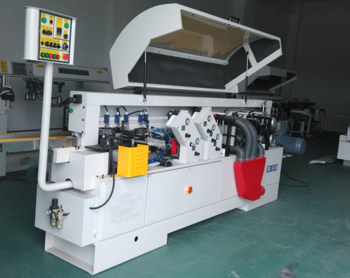 Semi-Automatic Straight Edge Banding Machine Fine Trimming pictures & photos