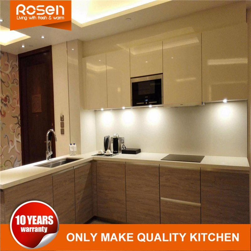 [Hot Item] Best Brown Spray Painting Finish Melamine Kitchen Cabinets  Furniture