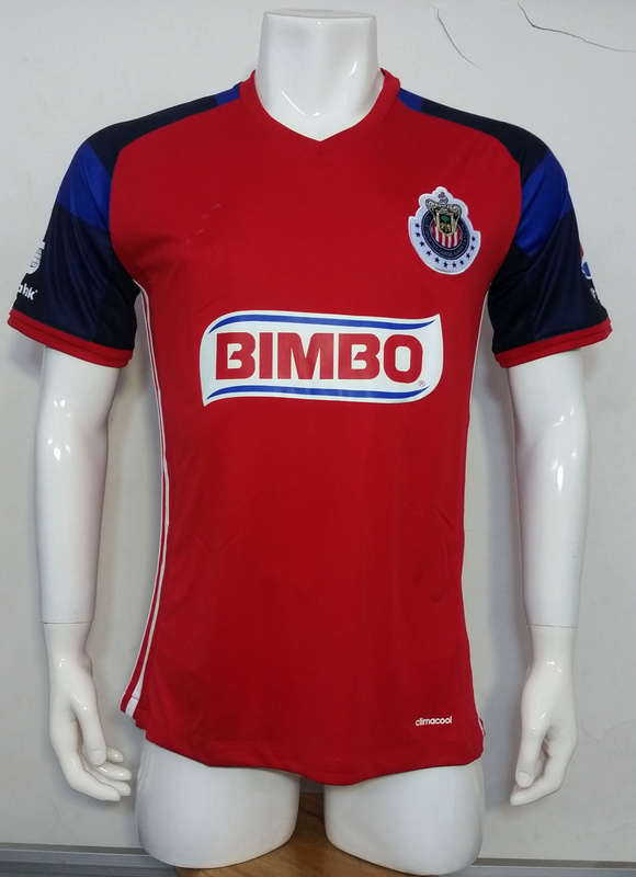 the latest 280fe 87807 [Hot Item] 2016/2017 Season Chivas Guadalajara CD Red Football Jersey  Tshirts