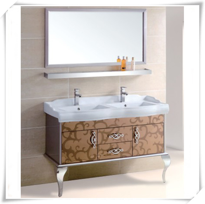 Free Standing Stainless Steel Bathroom Furniture