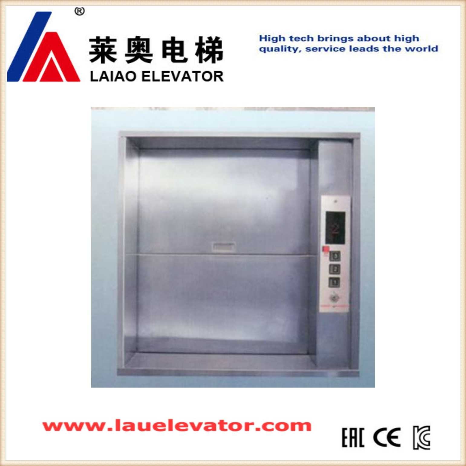 China Cheap Manual Open Sliding Door Dumbwaiter Goods Elevator - China  Goods Lift, Goods Elevator