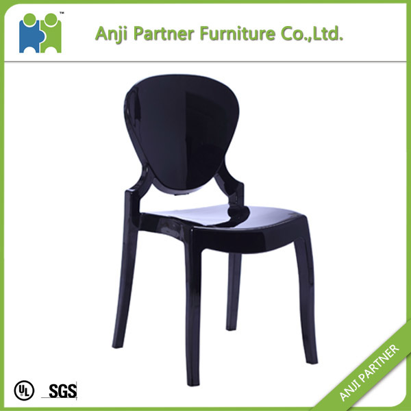 China Factory White Transparent PC Material Dining Room Chair (Constance) pictures & photos