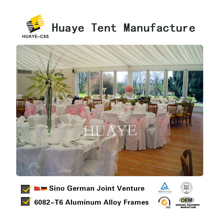 China Tuv Ceritified Whole Clear Window Wedding Tents For Events Hy058g
