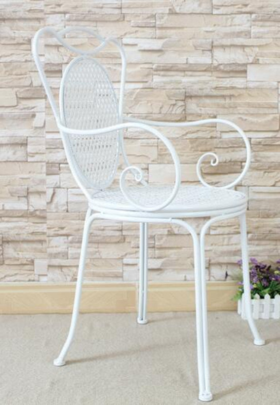 Outdoor Wrought Iron Chair, Wrought Iron Furniture Indoor
