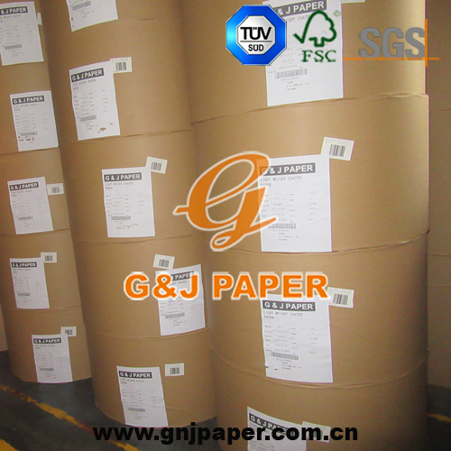 High Gloss Two Side Coated Art Paper for Magazine Printing pictures & photos